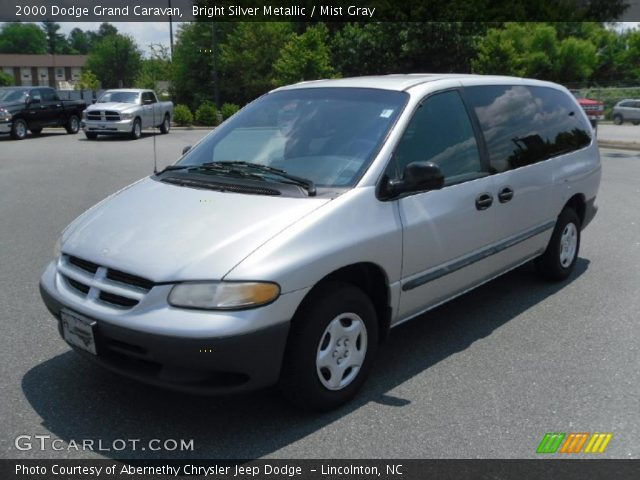 2000 dodge grand caravan in bright silver metallic click to see large. Cars Review. Best American Auto & Cars Review