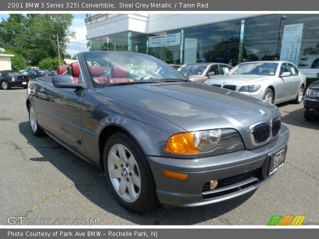 2001 BMW 3 Series 325i Convertible in Steel Grey Metallic
