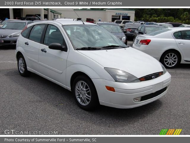 cloud 9 white 2003 ford focus zx5 hatchback medium. Black Bedroom Furniture Sets. Home Design Ideas
