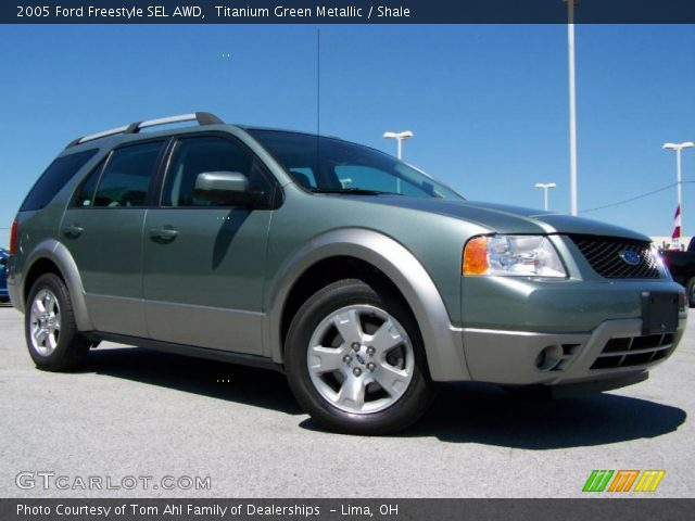 2005 ford freestyle green 200 interior and exterior images. Black Bedroom Furniture Sets. Home Design Ideas