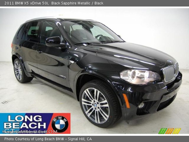 black sapphire metallic 2011 bmw x5 xdrive 50i black. Black Bedroom Furniture Sets. Home Design Ideas