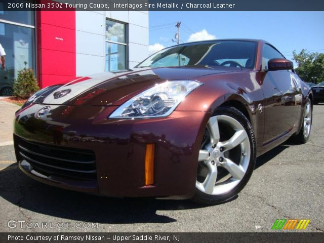 interlagos fire metallic 2006 nissan 350z touring coupe. Black Bedroom Furniture Sets. Home Design Ideas