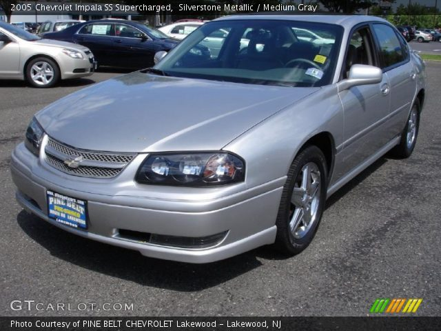 silverstone metallic 2005 chevrolet impala ss. Black Bedroom Furniture Sets. Home Design Ideas