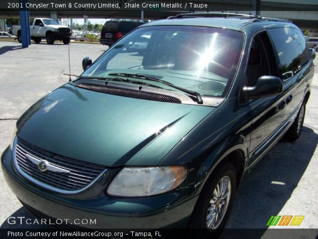 Shale green metallic 2001 chrysler town country - 2001 chrysler town and country interior ...