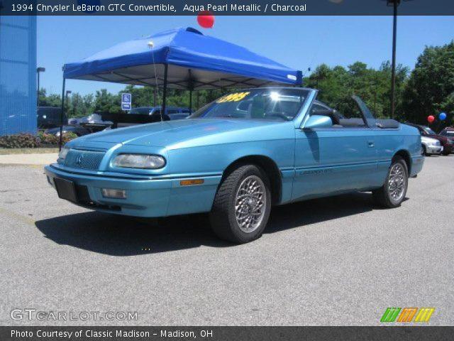 1994 Chrysler Lebaron Gtc. 1994 Chrysler LeBaron GTC