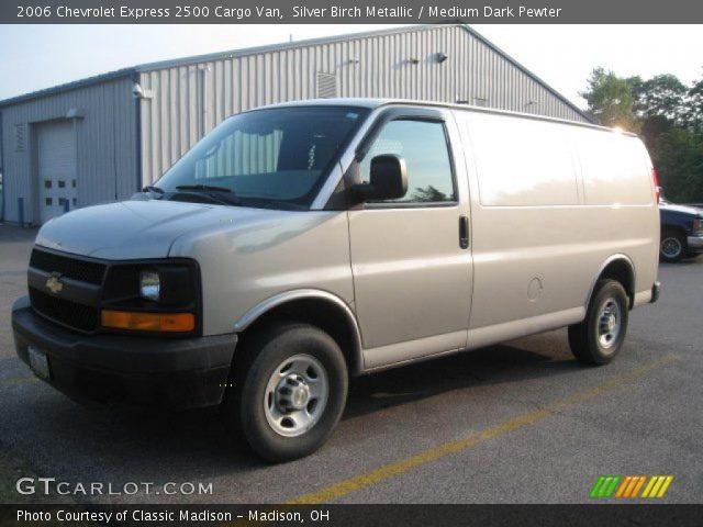 Silver Birch Metallic  2006 Chevrolet Express 2500 Cargo Van