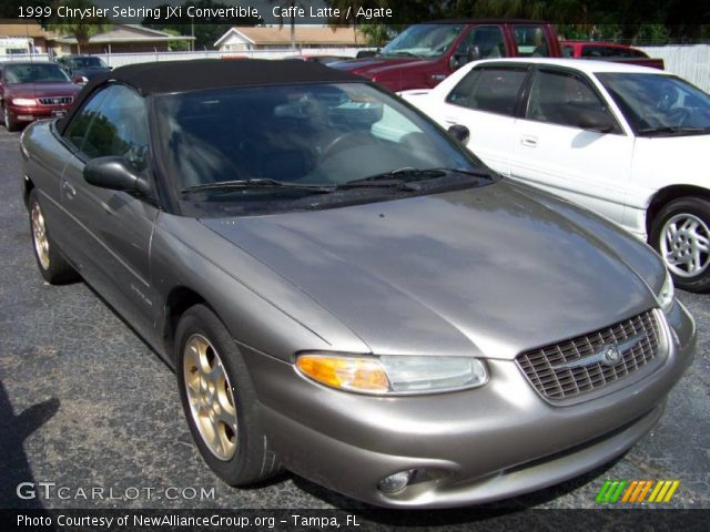 caffe latte 1999 chrysler sebring jxi convertible. Black Bedroom Furniture Sets. Home Design Ideas
