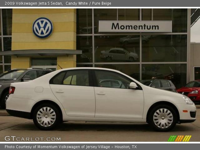 2009 Volkswagen Jetta S Sedan in Candy White