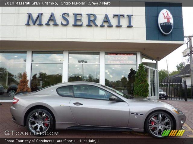 Grigio nuvolari grey 2010 maserati granturismo s for Maserati granturismo s interieur