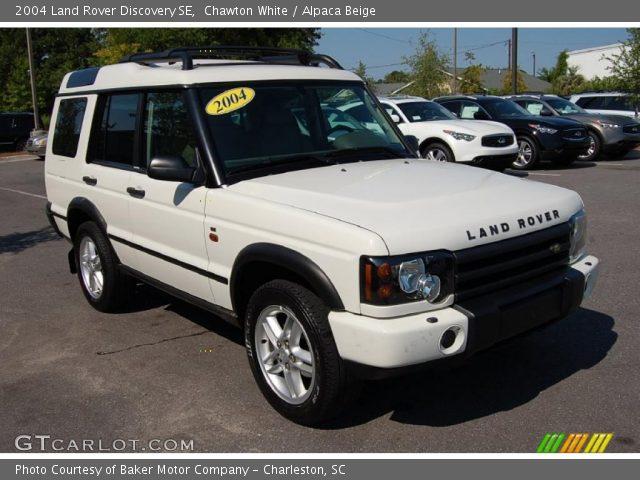 chawton white 2004 land rover discovery se alpaca beige interior vehicle. Black Bedroom Furniture Sets. Home Design Ideas