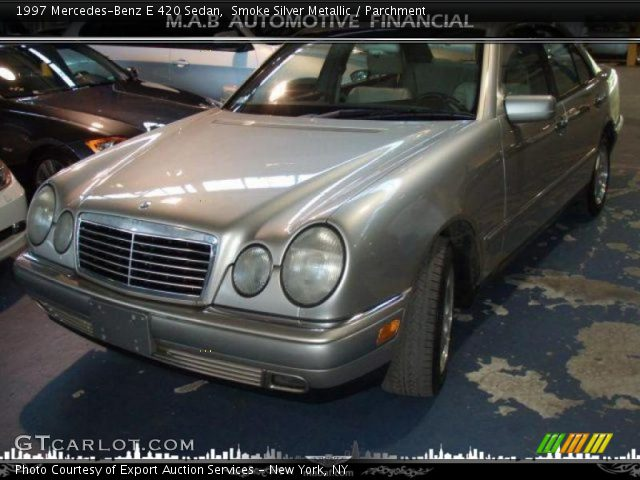 1997 Mercedes-Benz E 420 Sedan in Smoke Silver Metallic