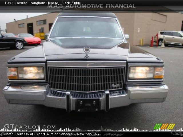 1992 Cadillac Brougham Hearse in Black