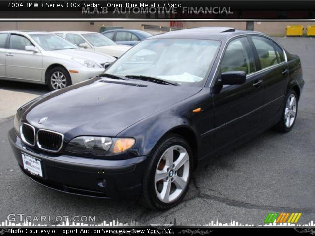 orient blue metallic 2004 bmw 3 series 330xi sedan. Black Bedroom Furniture Sets. Home Design Ideas