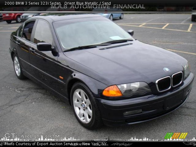 orient blue metallic 2000 bmw 3 series 323i sedan sand interior vehicle. Black Bedroom Furniture Sets. Home Design Ideas