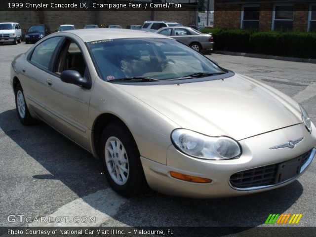 1999 chrysler concorde lx in champagne pearl click to see large photo. Cars Review. Best American Auto & Cars Review