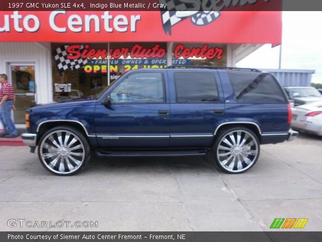 1997 GMC Yukon SLE 4x4 in Indigo Blue Metallic