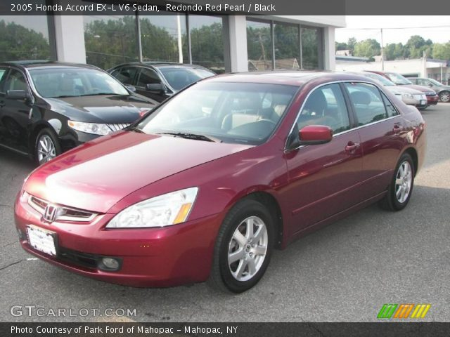 redondo red pearl 2005 honda accord ex l v6 sedan. Black Bedroom Furniture Sets. Home Design Ideas