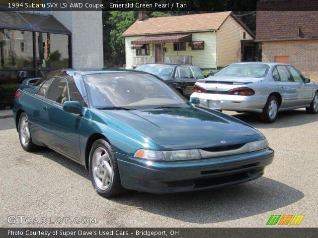 1994 Subaru SVX LSi AWD Coupe in Emerald Green Pearl