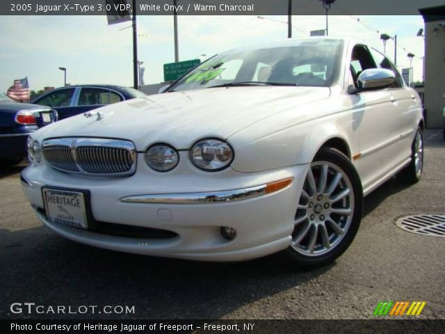 white onyx 2005 jaguar x type 3 0 vdp warm charcoal interior vehicle. Black Bedroom Furniture Sets. Home Design Ideas