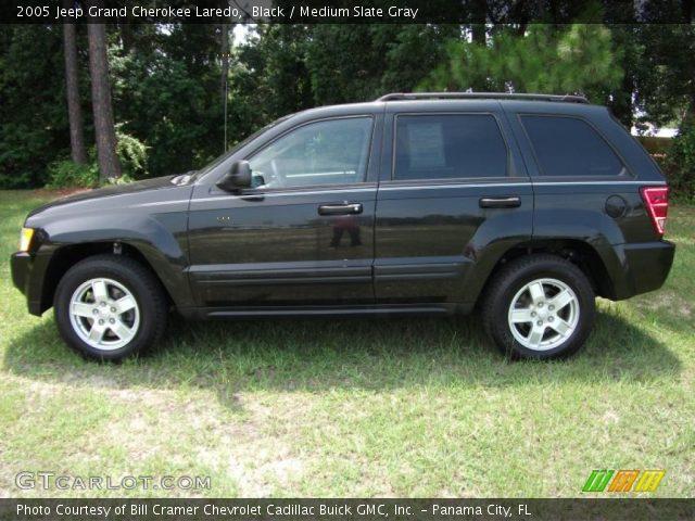 Black 2005 jeep grand cherokee laredo medium slate - 2005 jeep grand cherokee laredo interior ...
