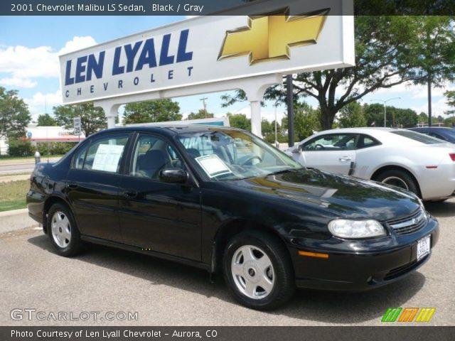 black 2001 chevrolet malibu ls sedan gray interior gtcarlot com vehicle archive 32965752 gtcarlot com