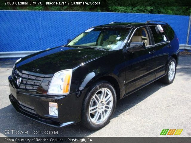 2008 Cadillac SRX V8 in Black Raven