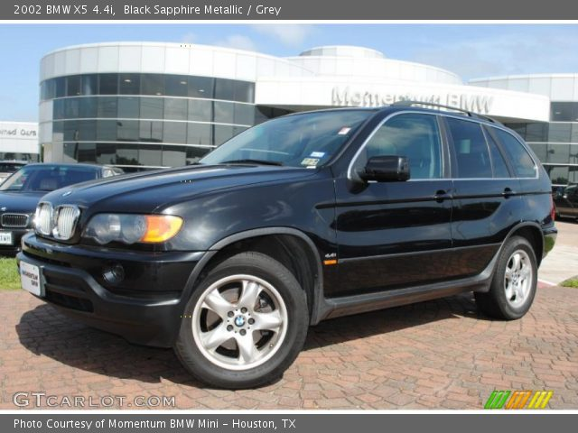 black sapphire metallic 2002 bmw x5 grey interior. Black Bedroom Furniture Sets. Home Design Ideas