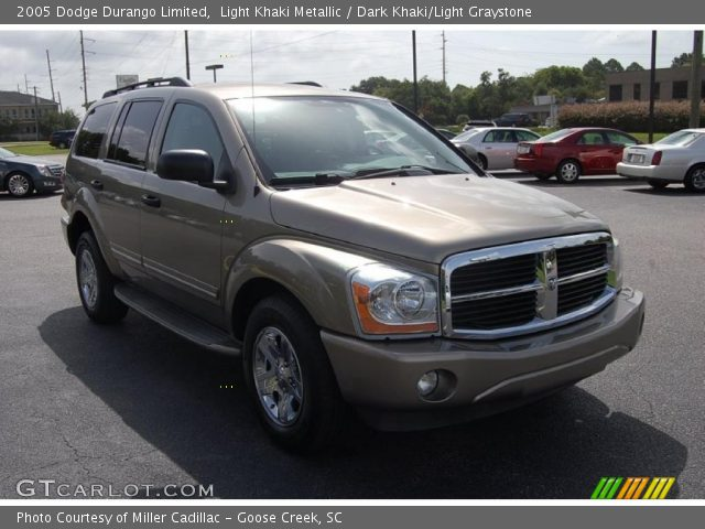 light khaki metallic 2005 dodge durango limited dark. Black Bedroom Furniture Sets. Home Design Ideas