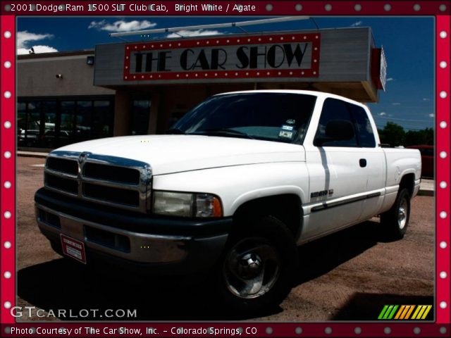 bright white 2001 dodge ram 1500 slt club cab agate interior vehicle. Black Bedroom Furniture Sets. Home Design Ideas