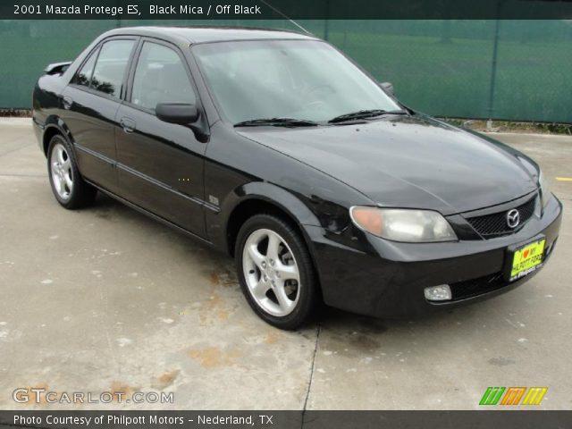 2001 Mazda Protege ES in Black Mica