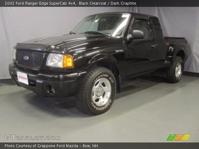 2002 ford ranger edge supercab 4x4 in black clearcoat