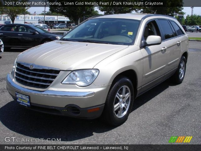 linen gold metallic pearl 2007 chrysler pacifica touring. Black Bedroom Furniture Sets. Home Design Ideas