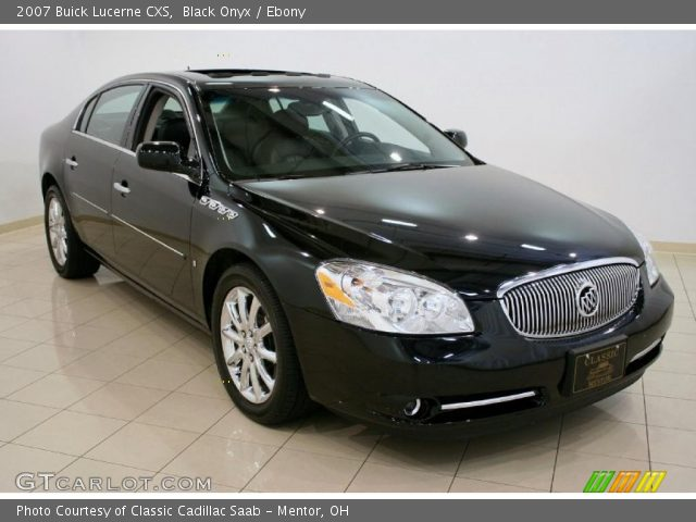 2007 Buick Lucerne Black >> Black Onyx - 2007 Buick Lucerne CXS - Ebony Interior | GTCarLot.com - Vehicle Archive #33236988