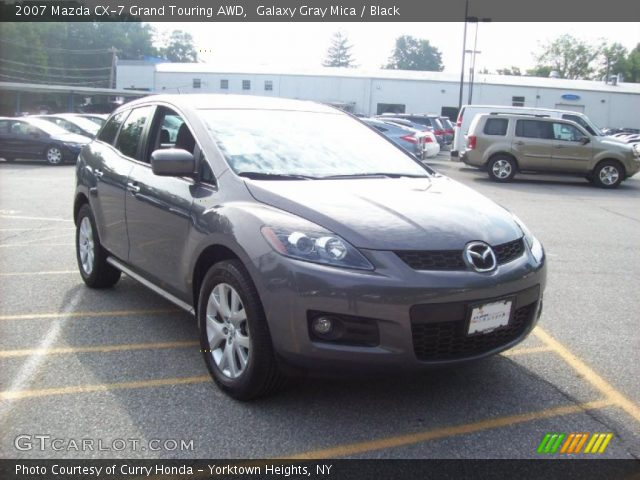 galaxy gray mica 2007 mazda cx 7 grand touring awd. Black Bedroom Furniture Sets. Home Design Ideas
