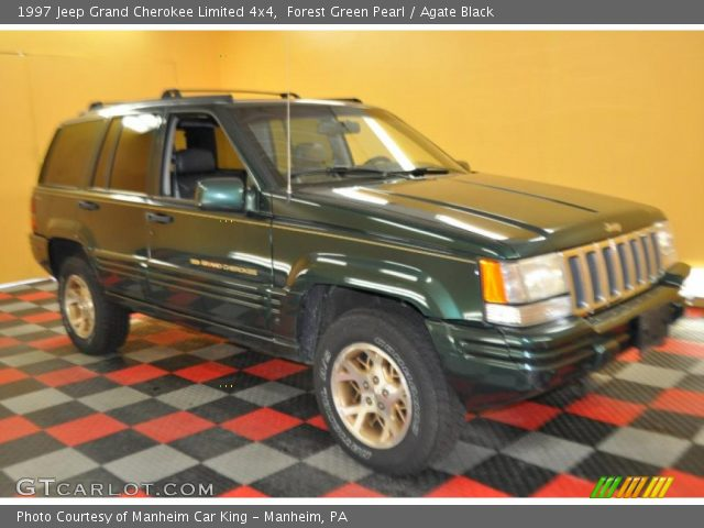 Forest green pearl 1997 jeep grand cherokee limited 4x4 - 1997 jeep grand cherokee interior ...