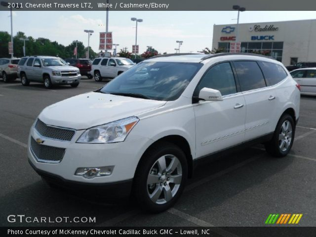 2011 Chevrolet Traverse Ltz. White 2011 Chevrolet Traverse