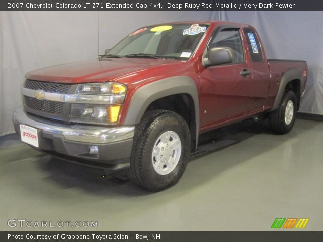 deep ruby red metallic 2007 chevrolet colorado lt z71. Black Bedroom Furniture Sets. Home Design Ideas