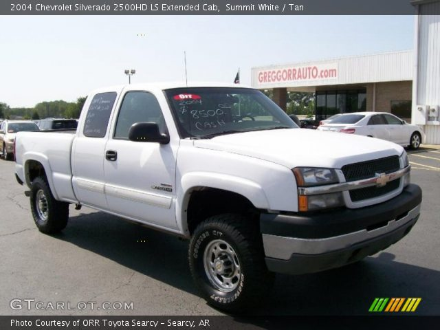 summit white 2004 chevrolet silverado 2500hd ls extended. Black Bedroom Furniture Sets. Home Design Ideas