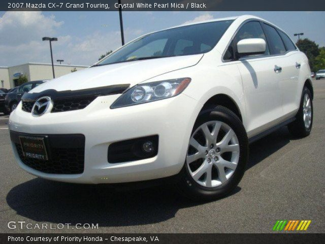 crystal white pearl mica 2007 mazda cx 7 grand touring. Black Bedroom Furniture Sets. Home Design Ideas