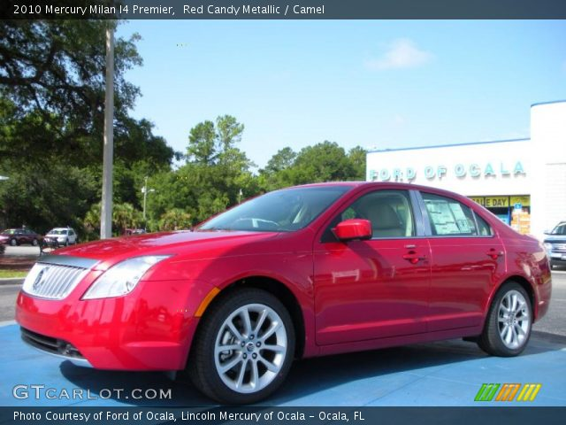 2010 Mercury Milan I4 Premier in Red Candy Metallic
