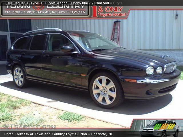 ebony black 2006 jaguar x type 3 0 sport wagon charcoal interior vehicle. Black Bedroom Furniture Sets. Home Design Ideas