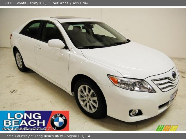 super white 2010 toyota camry xle ash gray interior. Black Bedroom Furniture Sets. Home Design Ideas