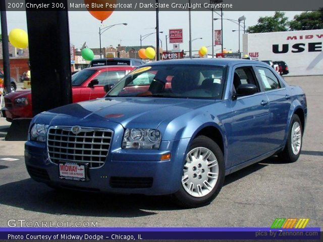 Marine blue pearlcoat 2007 chrysler 300 dark slate - 2007 chrysler 300 custom interior ...