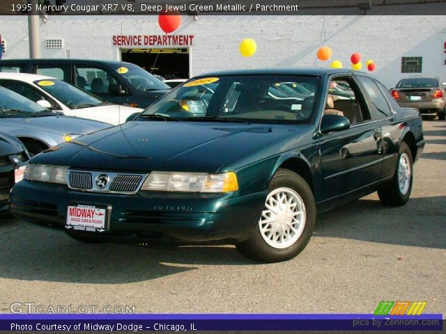 deep jewel green metallic 1995 mercury cougar xr7 v8 parchment interior gtcarlot com vehicle archive 33496484 gtcarlot com