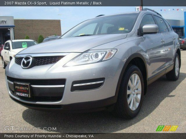 2007 Mazda CX-9 Sport in Liquid Platinum Metallic