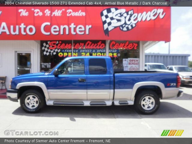 2004 Chevrolet Silverado 1500 Z71 Extended Cab 4x4 in Arrival Blue Metallic