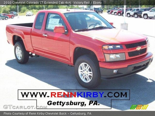 victory red 2010 chevrolet colorado lt extended cab 4x4. Black Bedroom Furniture Sets. Home Design Ideas