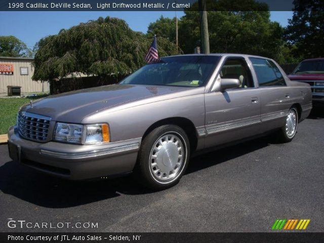 light driftwood metallic 1998 cadillac deville sedan camel interior gtc. Cars Review. Best American Auto & Cars Review