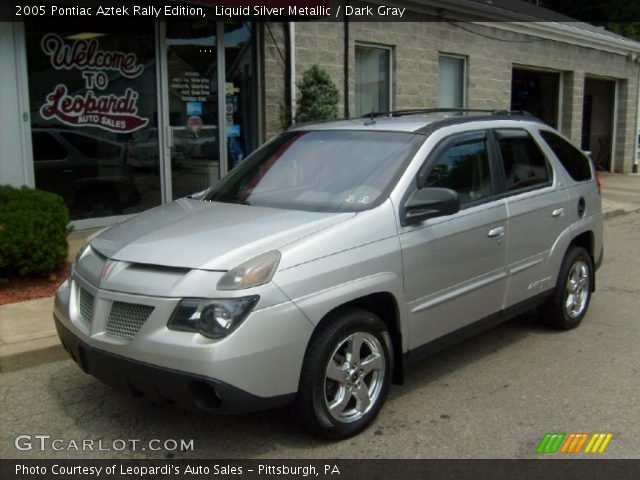 liquid silver metallic 2005 pontiac aztek rally edition. Black Bedroom Furniture Sets. Home Design Ideas