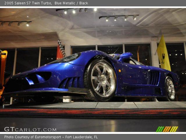 2005 Saleen S7 Twin Turbo in Blue Metallic